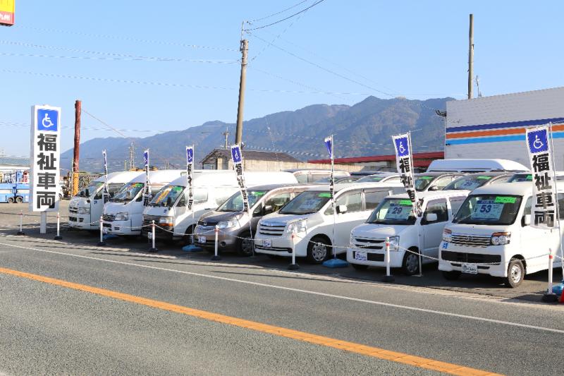 中古福祉車両の在庫が50台の写真